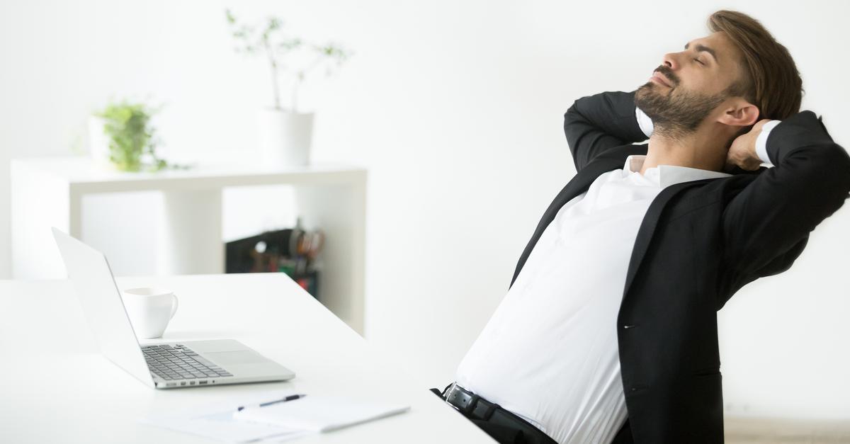 Tv Catia Fonseca Dicas infalíveis para depositar sua energia em coisas boas Homem trabalhando