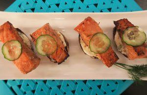 Especial da Copa – Japão: Brusqueta de salmão por Sabrina Kanai