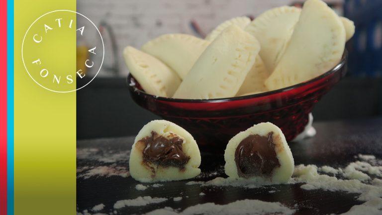 Aprenda a fazer um dos meus doces favoritos: pastel de creme de avelã com leite ninho!!!