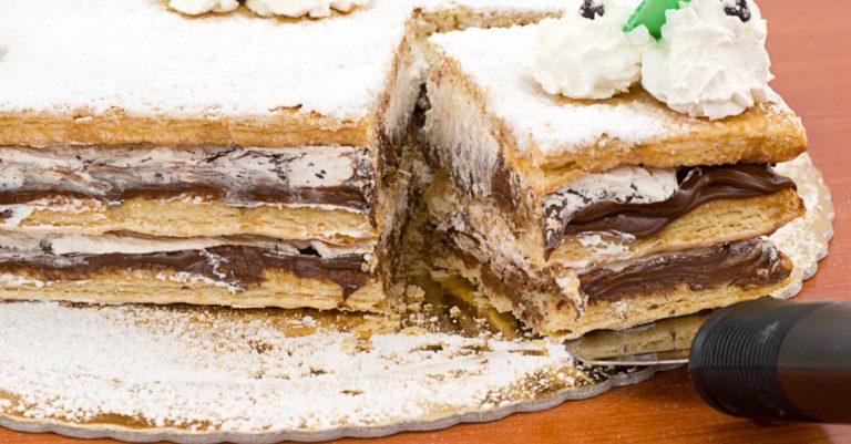Receita da Catia: Massa folhada de mousse de chocolate