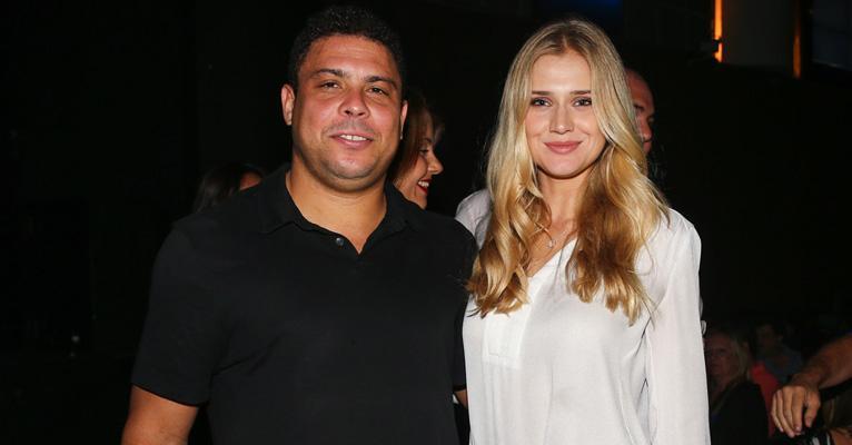 Ronaldo Fenômeno é liberado do hospital e recebe declaração de amor da noiva