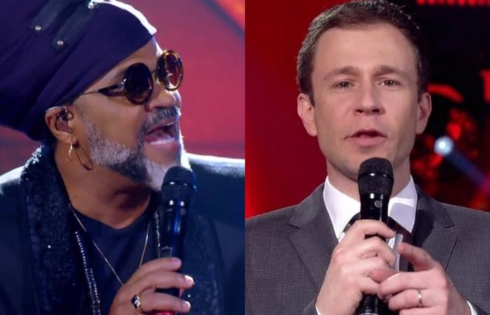 Carlinhos Brown revolta Tiago Leifert e o público do The Voice após falta de respeito com candidato