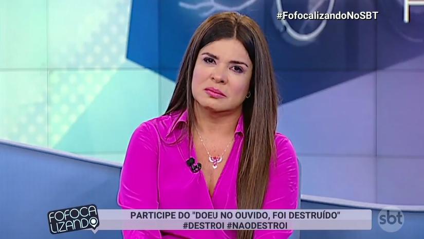Após polêmicas, SBT decide e Mara Maravilha não é mais apresentadora do Fofocalizando