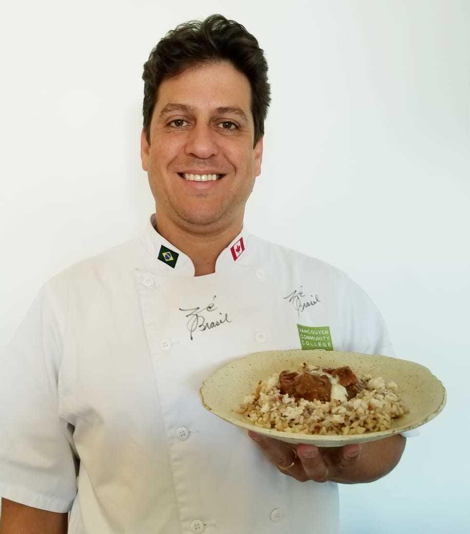 Tv Catia Fonseca Estrogonofe de porco Chef Zé Brasil