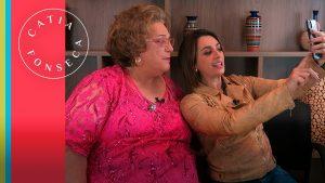 Bastidores da minha live com a Mamma Bruschetta!