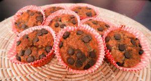 Minha receita de muffings de banana com chocolate!