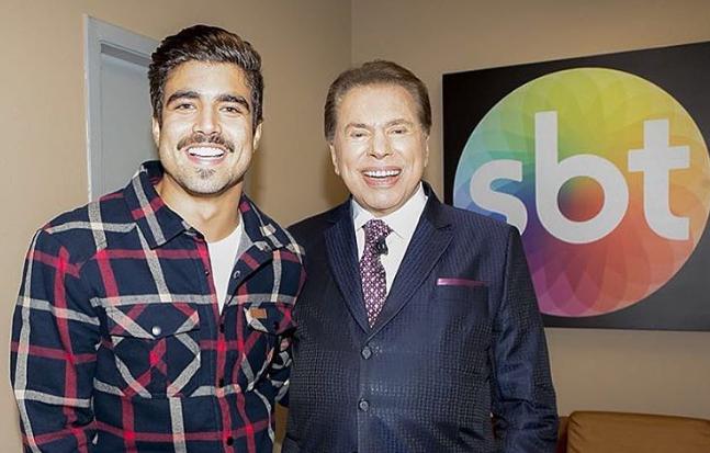 Sem contrato com a Globo, Caio Castro acerta novo vínculo e Silvio Santos faz exigência