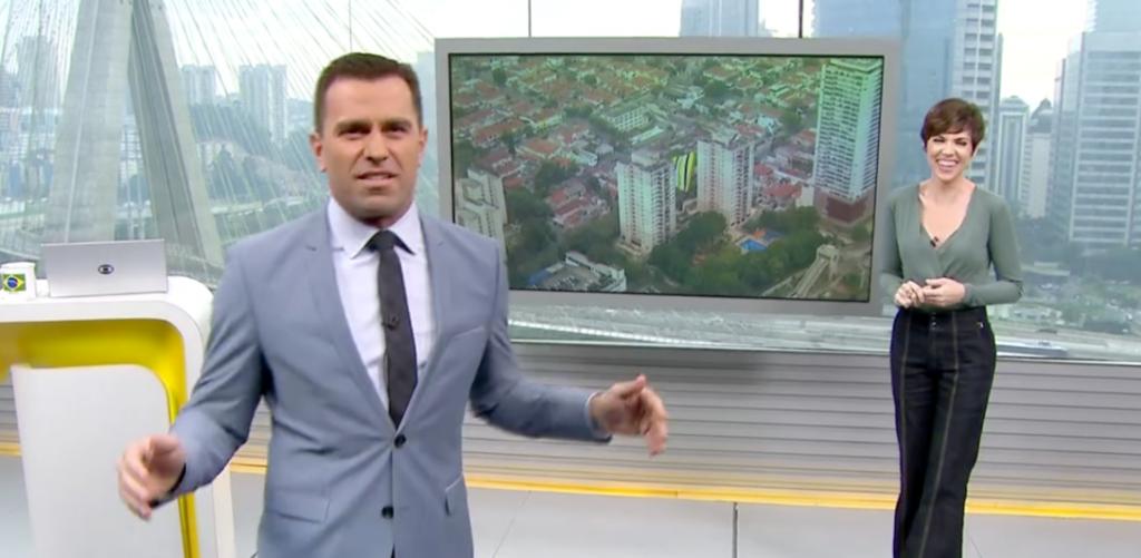 Rodrigo Bocardi fala pela primeira vez sobre desentendimento com colega ao vivo na Globo