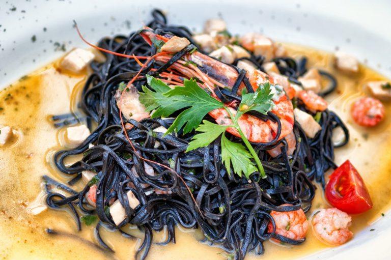 Grigliata mista di mare do chef Anderson Laranjeira