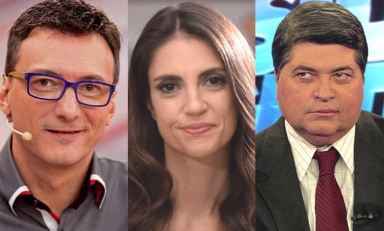 Rejeitados? Chris Flores, Datena e Britto Jr foram esquecidos no aniversário da Record