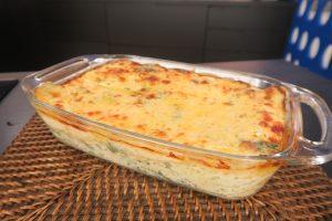 Surpreenda-se com a minha deliciosa lasanha de espinafre com queijo!