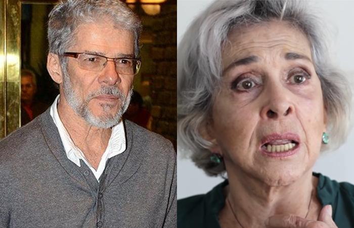 Betty Faria abre o jogo e revela por que José Mayer ficou doente