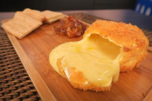 Camembert crocante por Bianca Folla