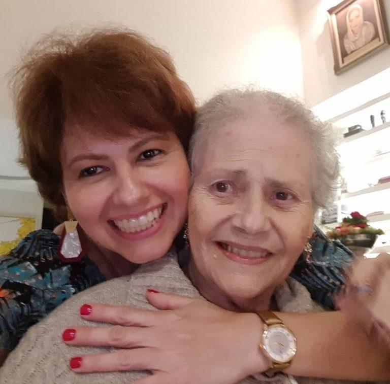 """Após morte, Narjara Turetta se despede da mãe: """"Como eu vou viver sem você?"""""""