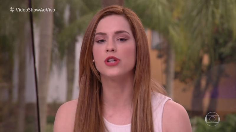 """Vídeo Show comete erro e Sophia Abrahão precisou intervir: """"Desculpa gente"""""""