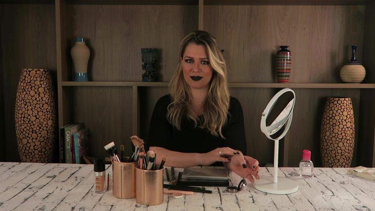 Maquiagem de halloween por Bruna Soares