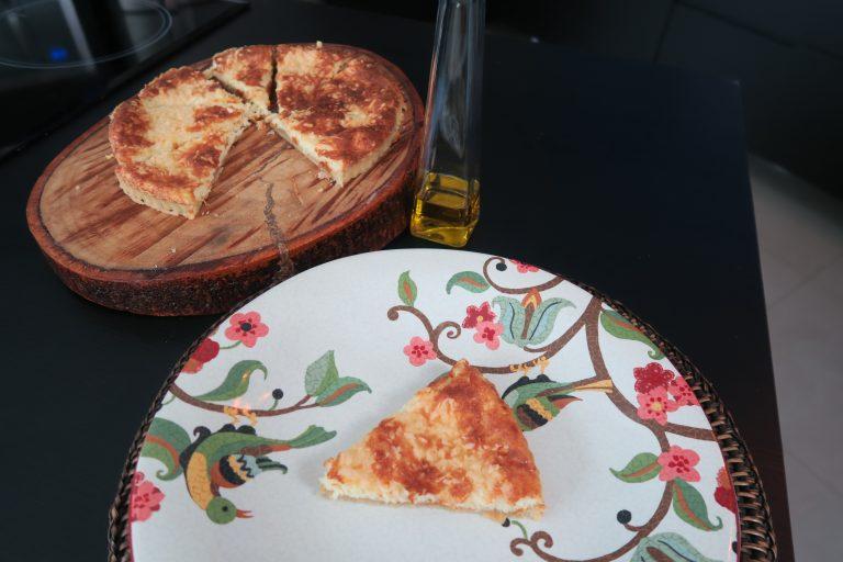 Torta de queijo por Cassio Prados