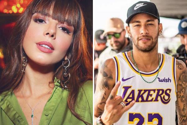 Neymar e Giovanna Lancellotti tentam afastar rumores de romance e o jogador ironiza situação