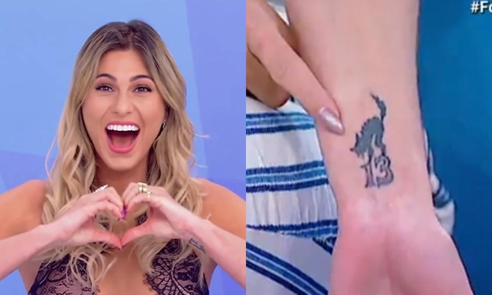 Lívia Andrade revela tatuagem curiosa que fez e conta o que detesta que façam com ela