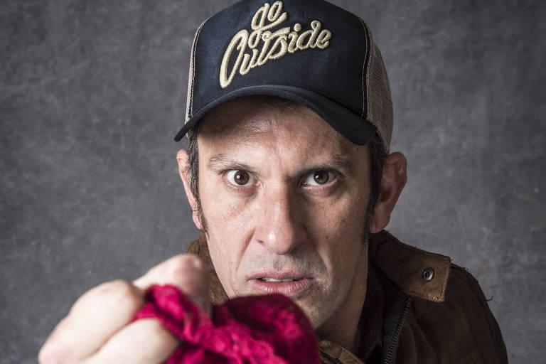 Tarado por calcinhas em O Sétimo Guardião, Milhem Cortaz diz que recebeu o apoio da esposa