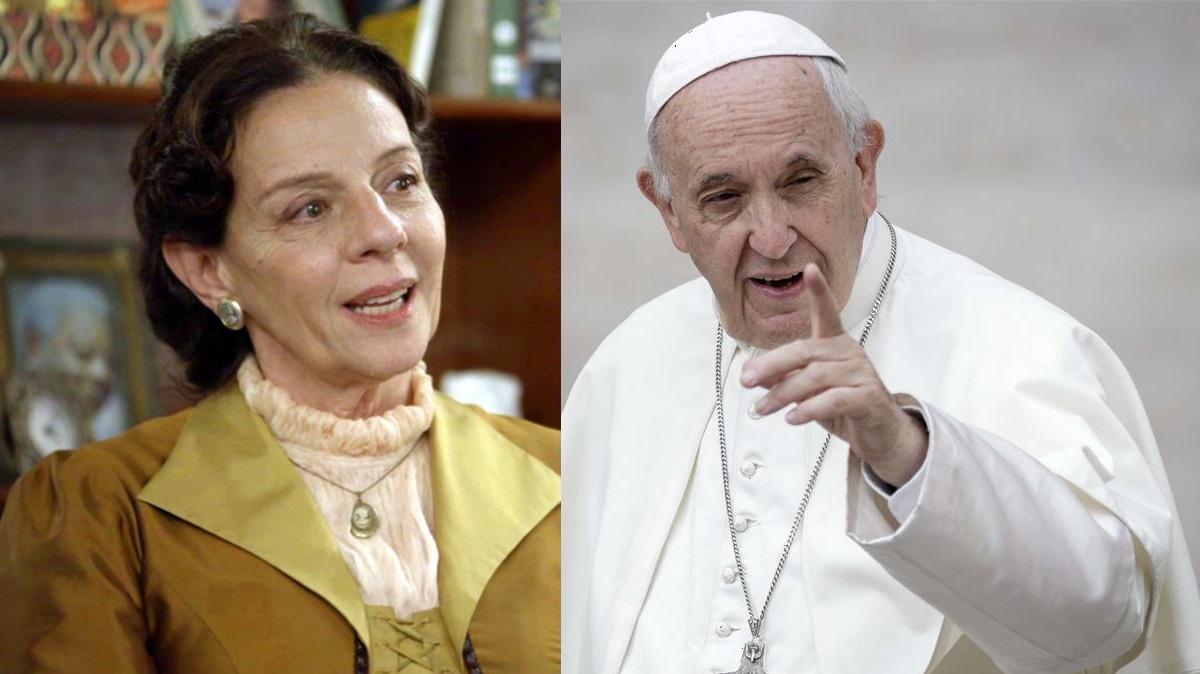O Tempo Não Para: Agustina resolve consultar o Papa sobre divórcio