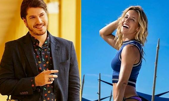 """Apresentadora da Globo """"troca"""" de ator e se encanta por novo galã da emissora"""