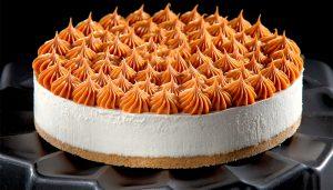 Receita da revista da Catia: Cheesecake de doce de leite