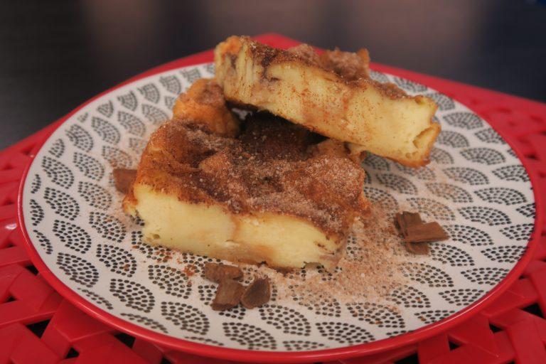 Rabanada de forno da ex-Master Chef Aritana Maroni