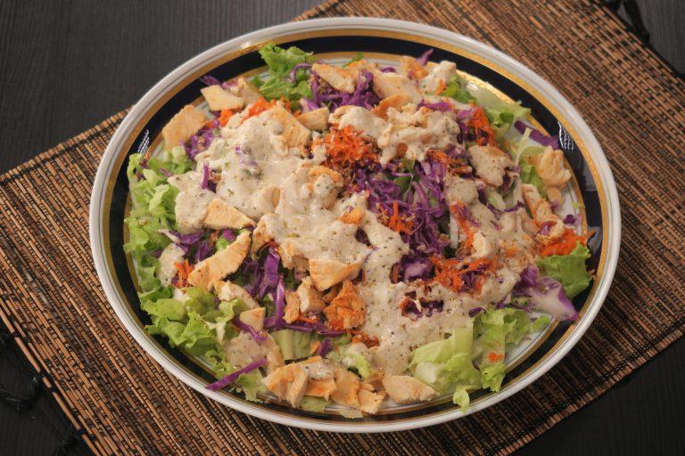Salada fresh pós festas de final de ano por Janaína Lorena