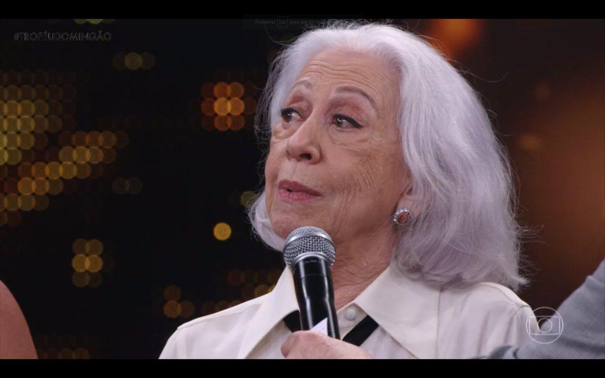 Desabafo de Fernanda Montenegro sobre Lei Rouanet no Faustão bomba na internet; assista