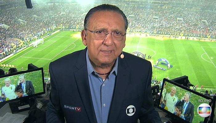 Globo decide sobre contrato e Galvão Bueno tem futuro definido