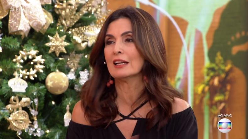 Fátima Bernardes revela no Encontro da Globo que fez tratamento para superar trauma