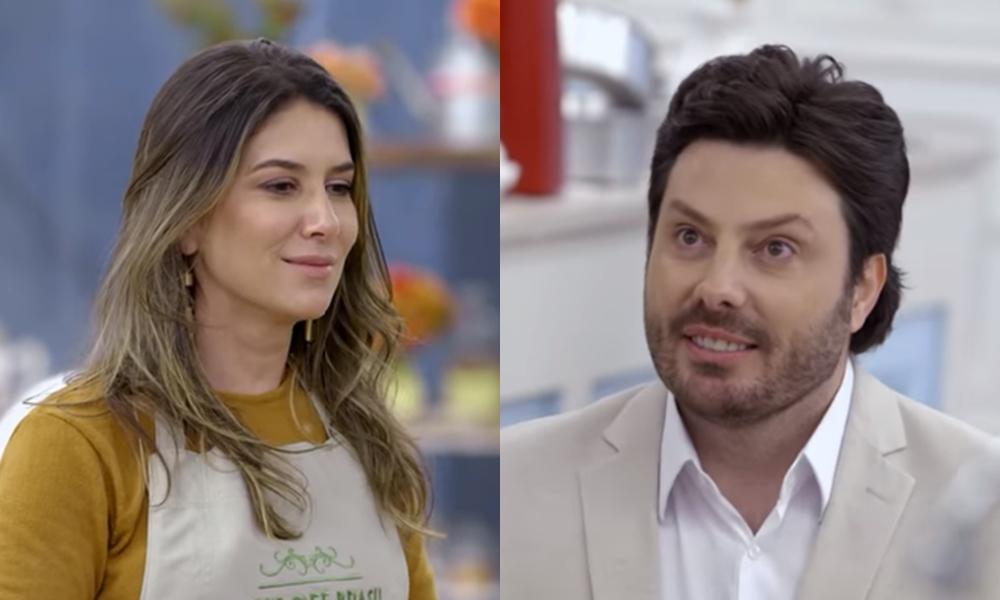 Danilo Gentili pede filha de Silvio Santos em casamento no SBT