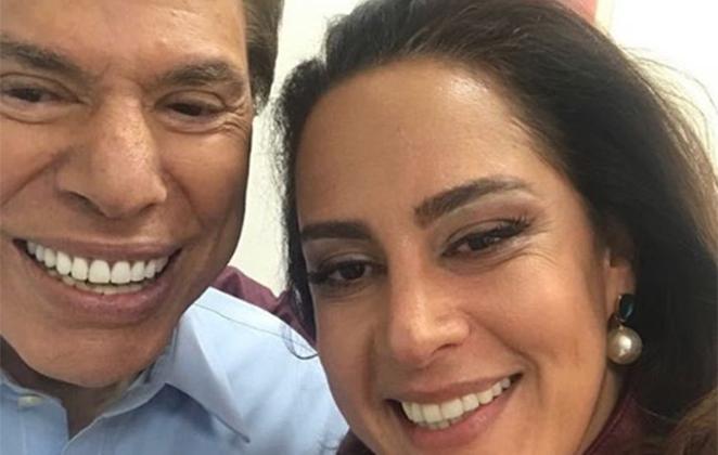 """Silvia Abravanel se declara para o pai, Silvio Santos, em aniversário: """"Meu melhor amigo"""""""