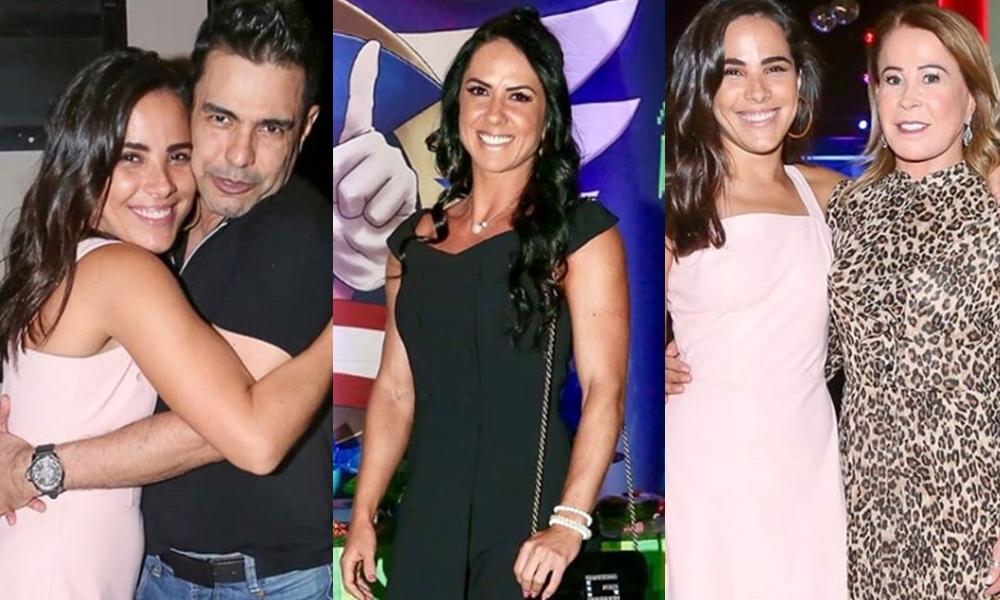 Wanessa Camargo promove reencontro entre Zilu, Zezé Di Camargo e Graciele Lacerda e o que ela não imaginava acontece