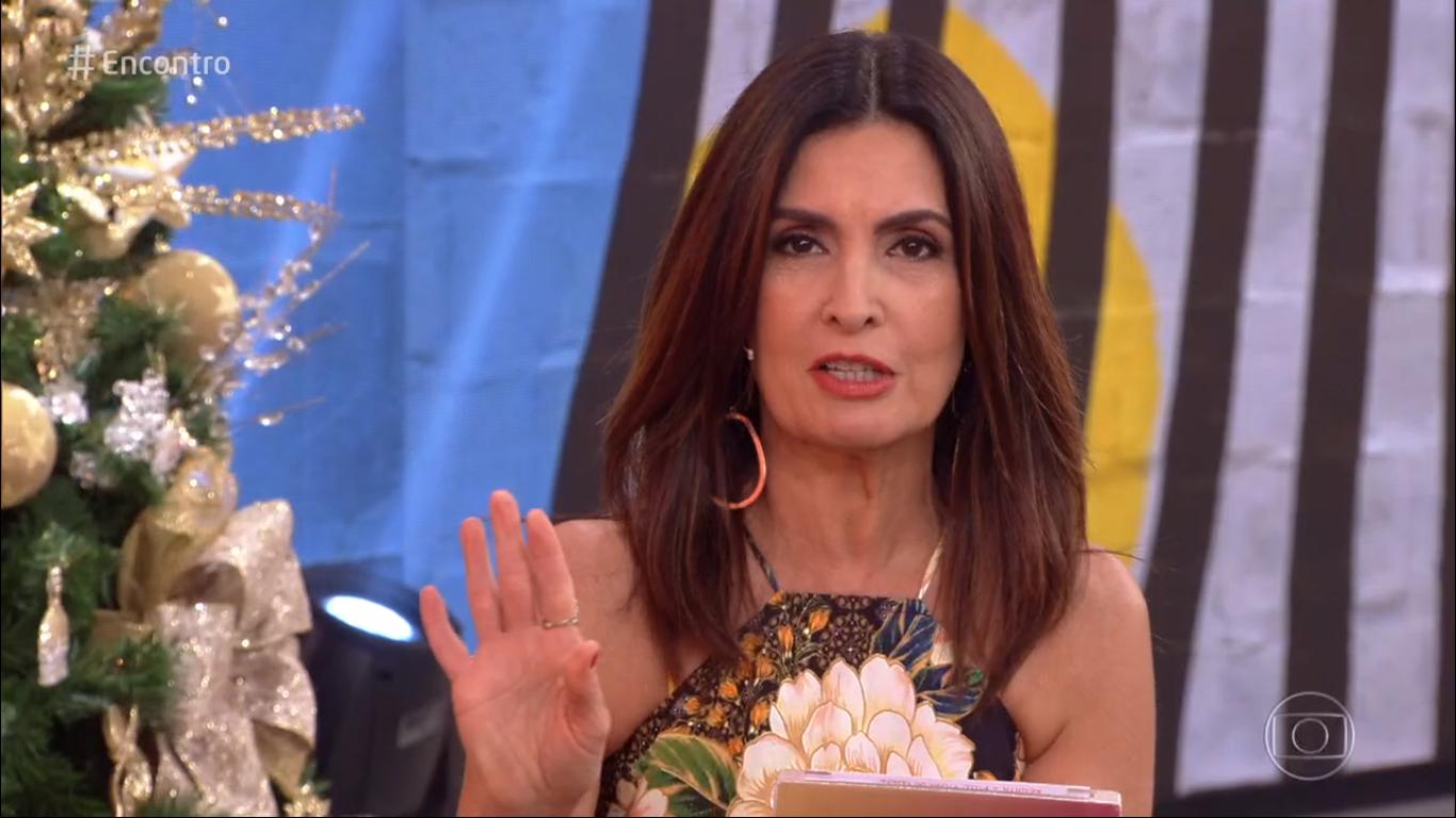 "Fátima Bernardes rebate internauta ao vivo após virar piada na Globo: ""Todo mundo erra"""