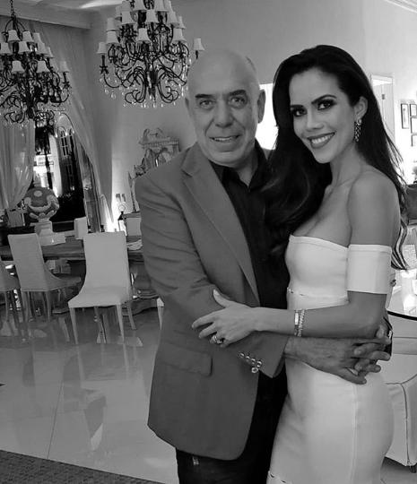 Suposta crise no casamento de Daniela Albuquerque com o dono da RedeTV é exposta e ela resolve falar