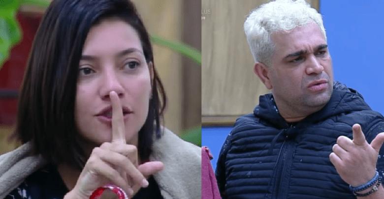 """Gabi Prado rebate comentários de Evandro e o chama de """"fiscal de camisinha"""""""