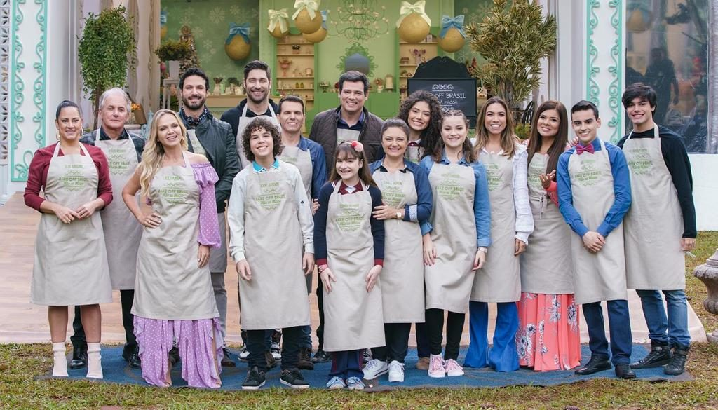 SBT reúne elenco de estrelas no Bake Off Brasil especial de Natal
