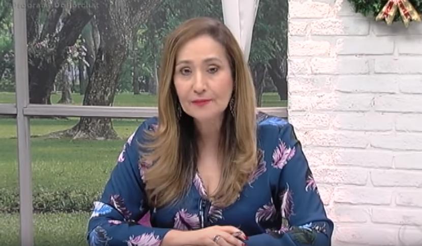 Sonia Abrão surpreende e aparece no Programa do Porchat anunciando o fim do mundo