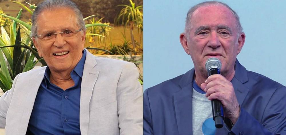 Carlos Alberto confirma participação de Renato Aragão no elenco da Praça é Nossa e surpreende