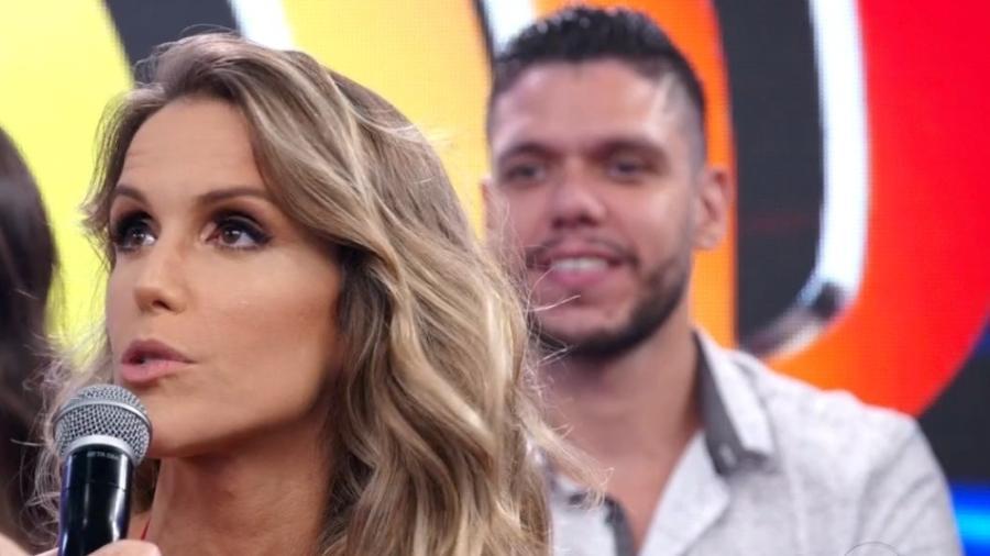 Mariana Ferrão faz desabafo ao vivo para Faustão e revela medo de falar com o apresentador