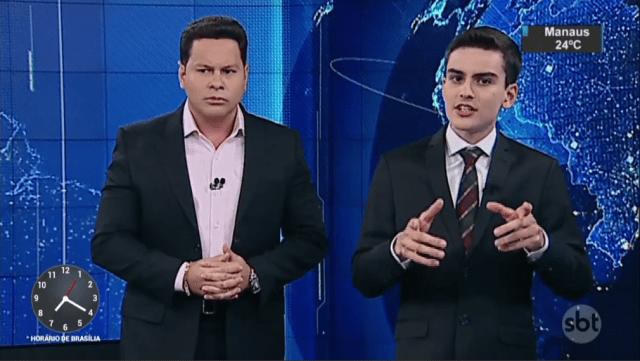 Marcão do Povo promove festão para os jornalistas do SBT e Dudu Camargo não comparece