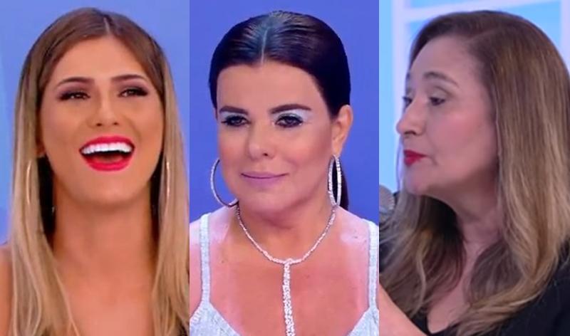 Lívia Andrade ironiza Sonia Abrão e Mara Maravilha sai em defesa da amiga