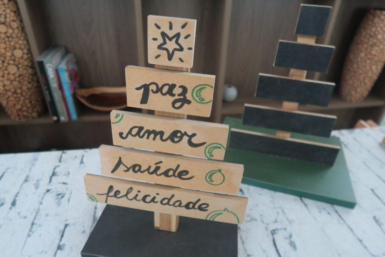 Árvore de Natal personalizada por Lumberjills