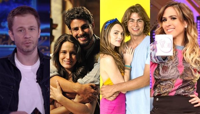Globo anuncia pacote de estreias com novelas e novos programas para janeiro