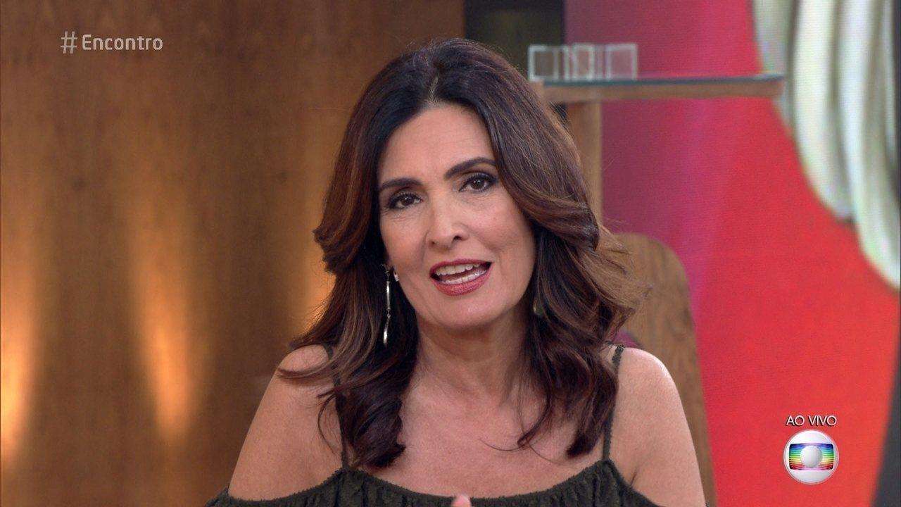 """Fátima Bernardes elogia sua substituta preferida do Encontro, Ana Furtado: """"Dedicada"""""""