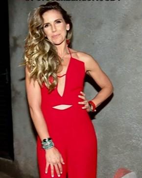 Apresentadora da Globo aparece sem aliança e sem o marido em festa do Faustão e levanta rumores de separação