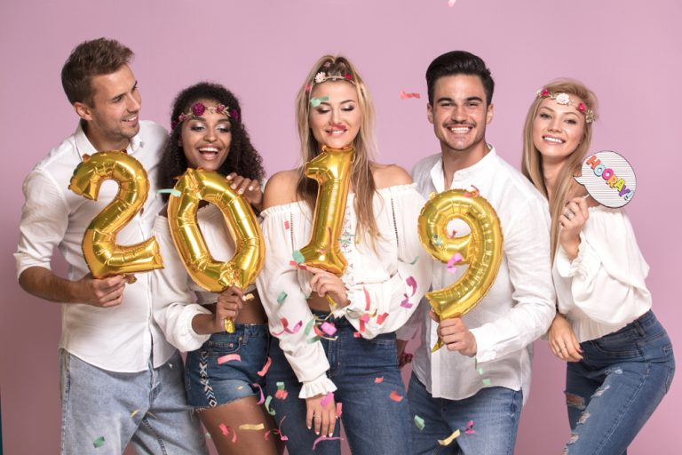 Feliz Ano Novo: Seja bem-vindo 2019!