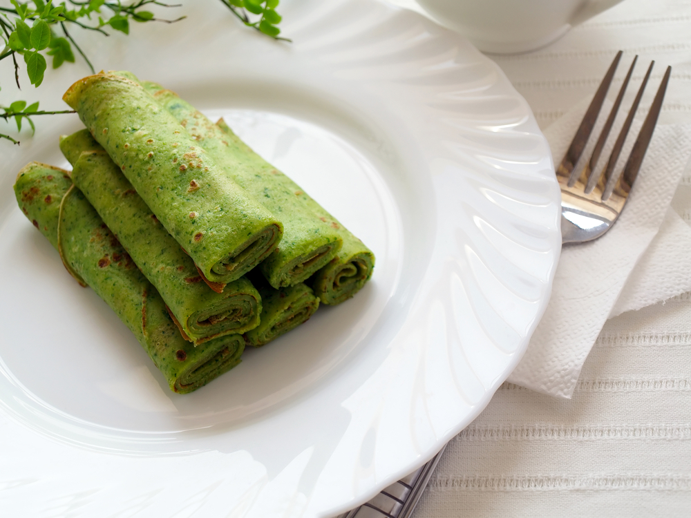 Tv Catia Fonseca panquecas verdes Café da manhã com saúde: Saborosa Panqueca de Couve-flor